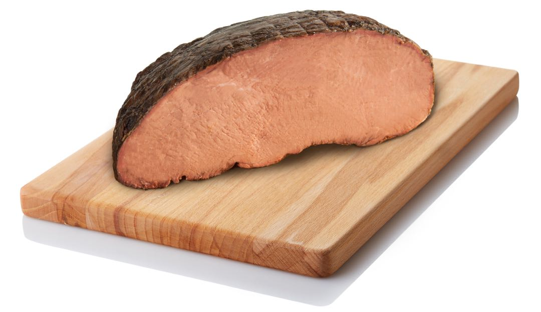 Halal Certified Gold Label Gourmet Roast Beef Top Round Cap Off