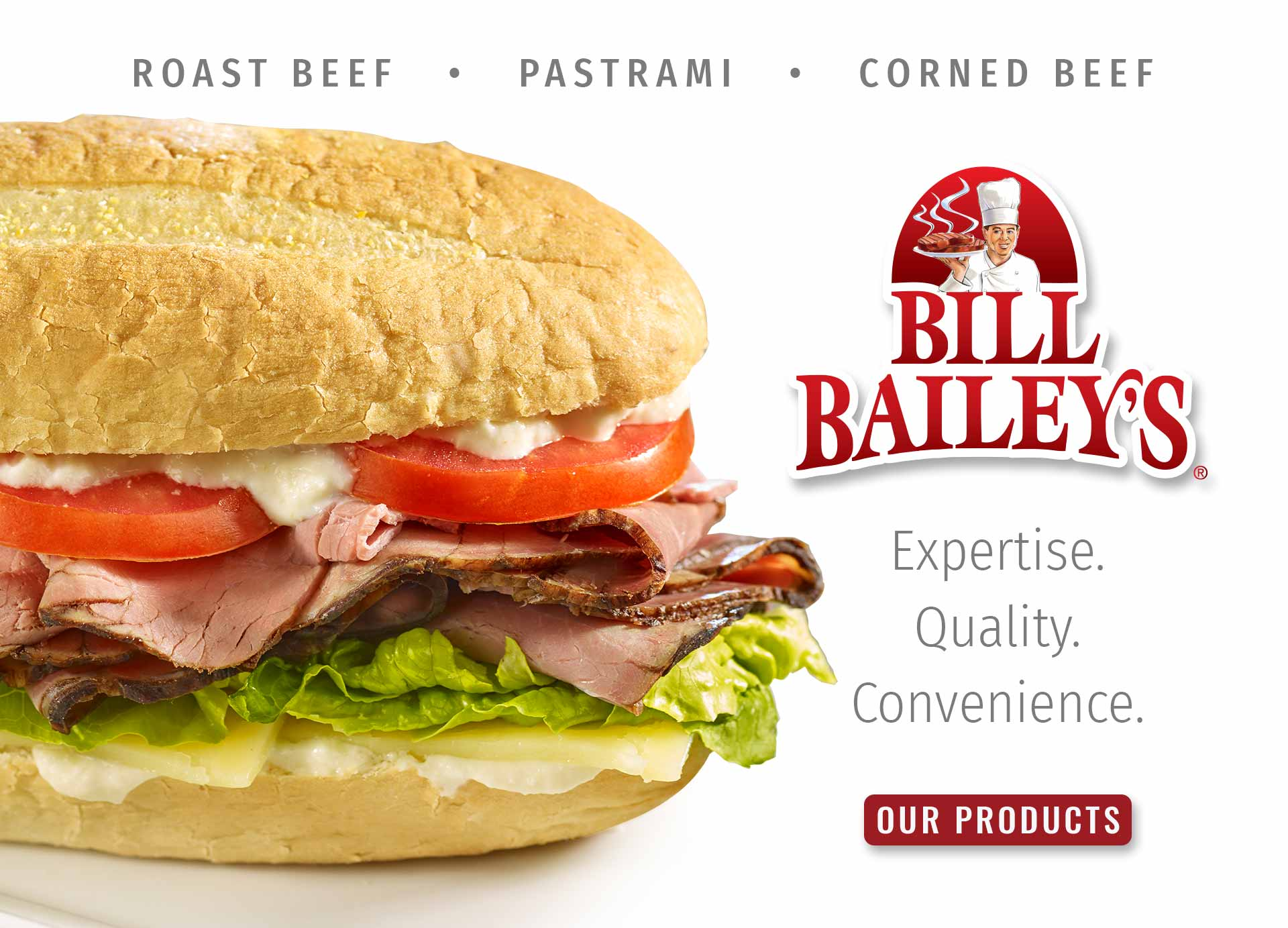 "Click Here to see all of our ""Bill Bailey's"" Products"