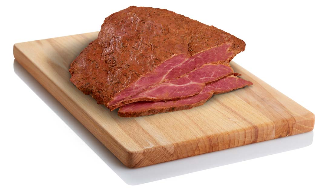 Bill Bailey's Black Label Old World Style Navel Pastrami